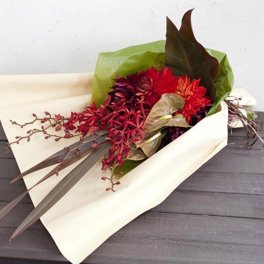 定期お届け便 季節の花束 10,000円