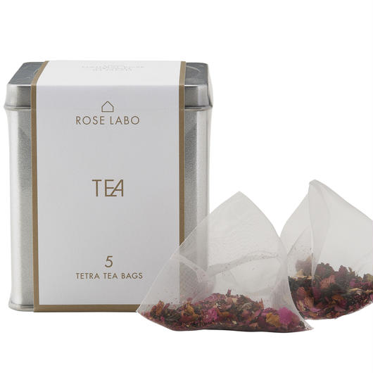 ROSE TEA 5TETRA BAGSローズティーファイブテトラバッグス