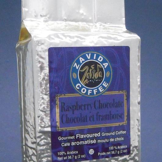 ザ・フレーバーコーヒー/ブリックタイプ ラズベリーチョコレート(60g)