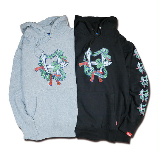 FALCHION SNAKE KUNG-FU HEAVYWEIGHT HOODIE SWEAT