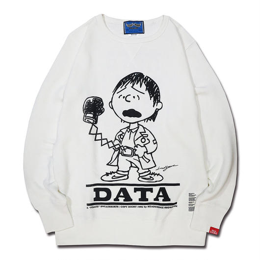 BOOTLEG VINTAGETYPE CREWNECK SWEAT (DATA)