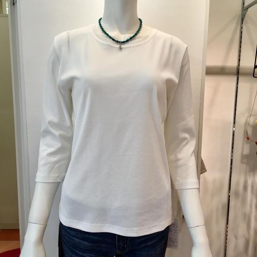 衿もとチュールTシャツ(k-121028)