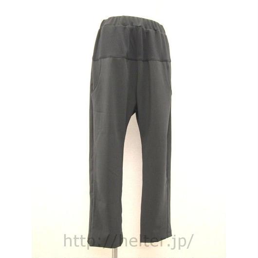 ポケット配色イージーパンツ(黒グレンチェック)PT-9661c/#910