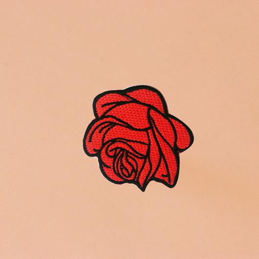 """ワッペン""""RED ROSE"""""""