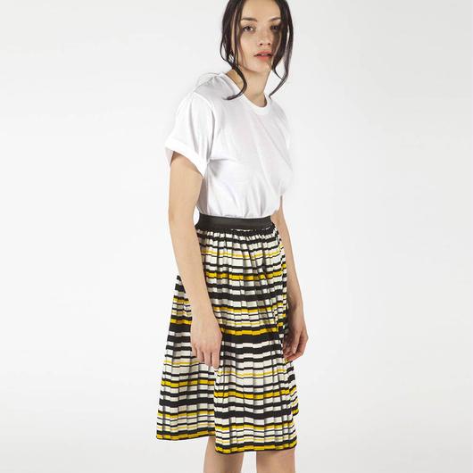 【SALE】Printed  skirt HS7102