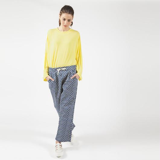 【SALE】Print comfy pants HP7107