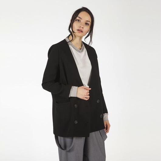 【SALE 】A plainly colored jacket HJ7103