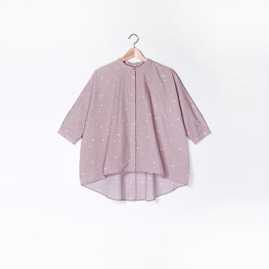 【SALE】Wide Cotton Shirt HC9102