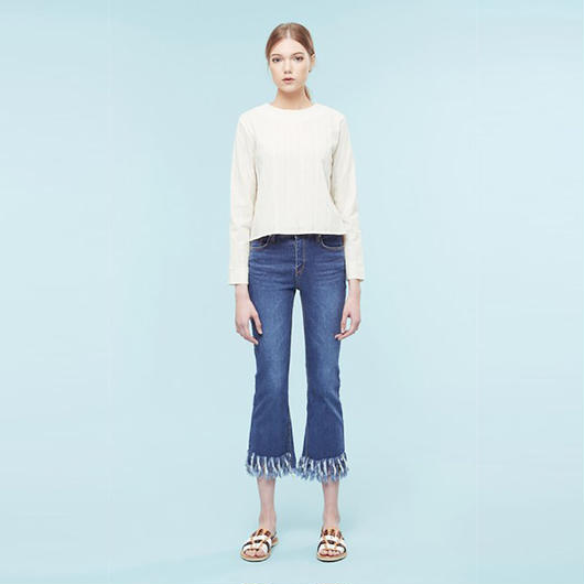 【SALE】Cotton lace shirt HC9104