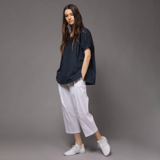 【SALE】Ruffled sleeves t-shirt HT7305