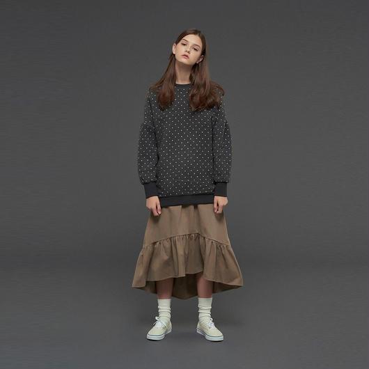 【SALE 】Polka Dots Sweatshirt HT10111