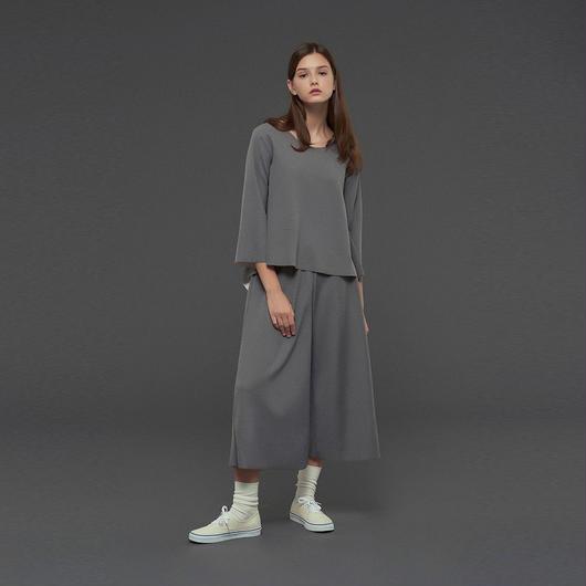 【SALE 】Asymmetric wide t-shirt HT10124