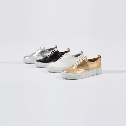 【SALE】Leather sneakers HAS8102