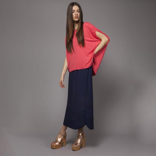 【SALE】Rounded Hem Skirt HS7201