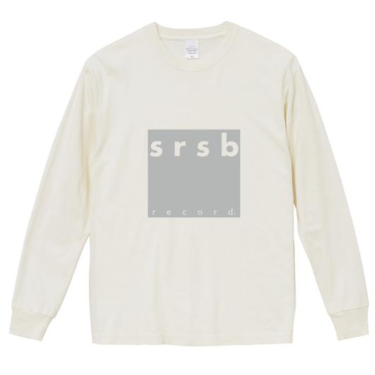 【WEB SHOP限定】srsb record. ロンT
