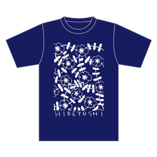 「テルハノTシャツ」ネイビー