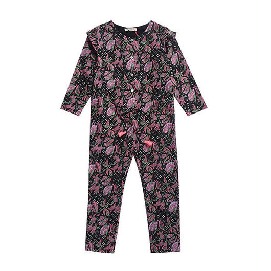 Louise Misha / JUMPSUIT AZKAN - BLACK FLOWER 3Y
