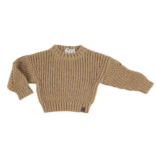 tocoto vintage / KNITTED OVERSIZE JERSEY - MUSTARD