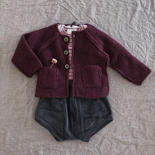 1+in the family / AGNES girly jacket - pruna