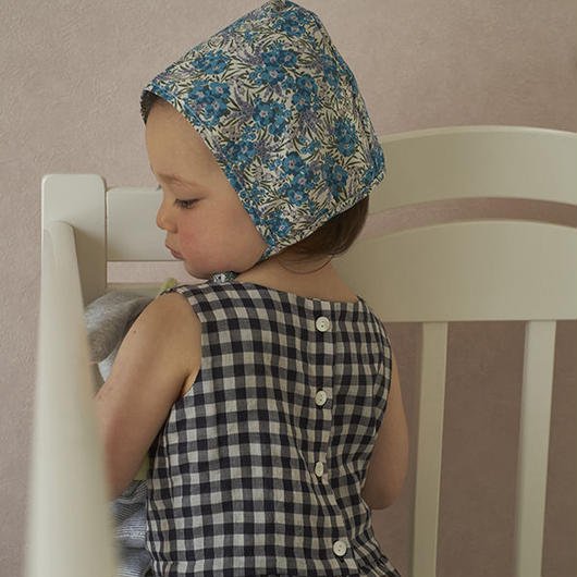 Bebe Organic - ANGELE BONNET - Liberty Blue
