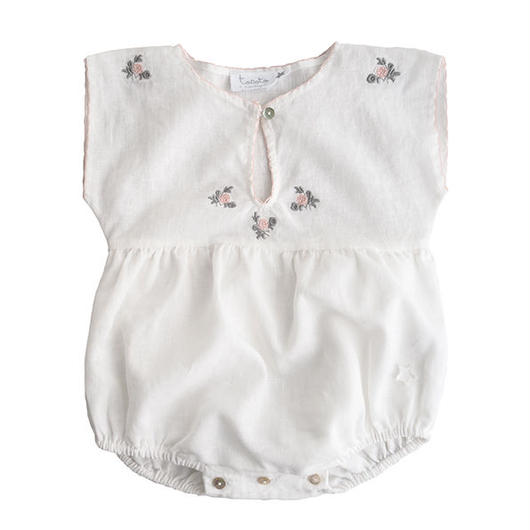 tocoto vintage / BODY + EMBRODERY - WHITE