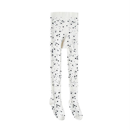 Rylee&Cru / Printed Ribbed Tights - Scattered Stars