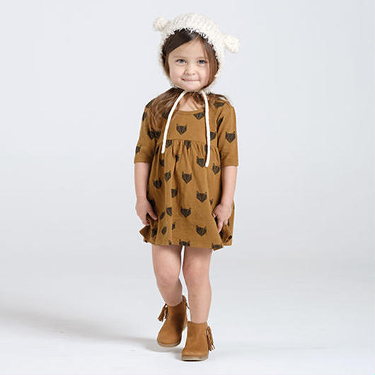 Rylee + Cru / Fox dress  - ginger