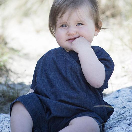 Serendipity Organics / Baby Denim Suit
