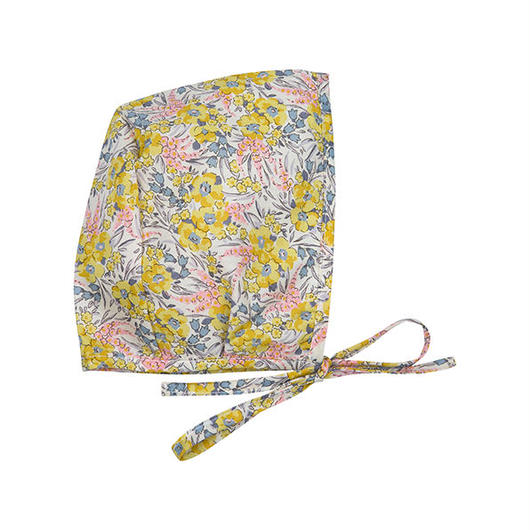 Bebe Organic Bonnet - ANGELE BONNET - Liberty Yellow