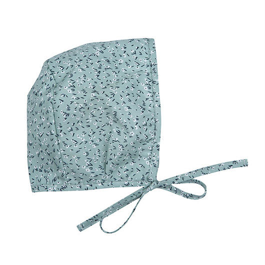 Bebe Organic Bonnet - NELLIE BONNET - Green Ground