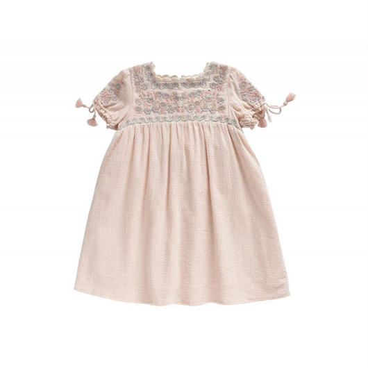 Louise Misha / Dress Adrika - Blush 4Y