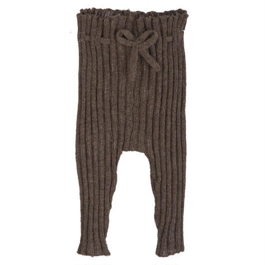 Serendipity Organics / Baby Alpaca Rib Leggings - Brown