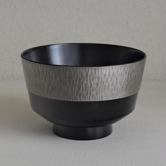 名古路英介 彫錫彩筒椀