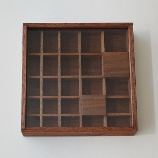 studio fujino 組子箱 格子