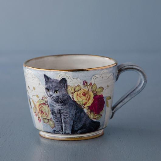猫柄マグカップ