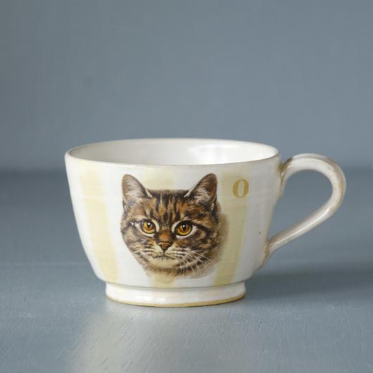 トラ猫マグカップ
