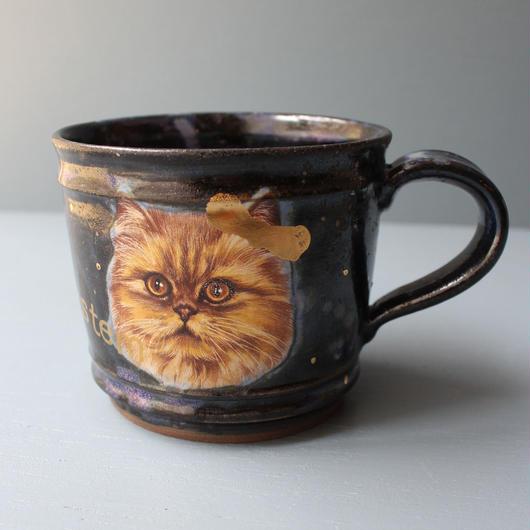 宇宙猫マグカップ ペルシャ
