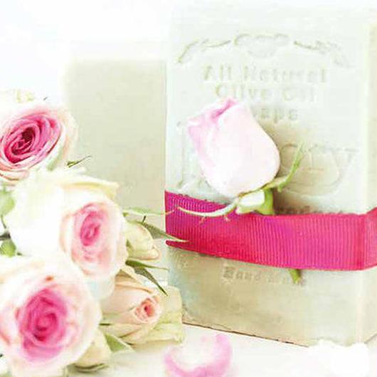 ローズ(薔薇)石けん-ヒストリーハーバルソープ