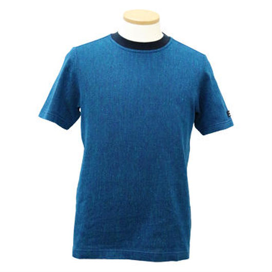 HOFI-001 コットンリネンインレー丸首Tシャツ