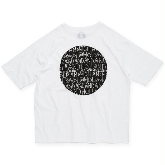 CIRCLE POCKET T-SHIRT / WHITE