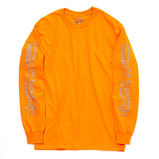 HHH LONGSLEEVE T-SHIRT / ORANGE