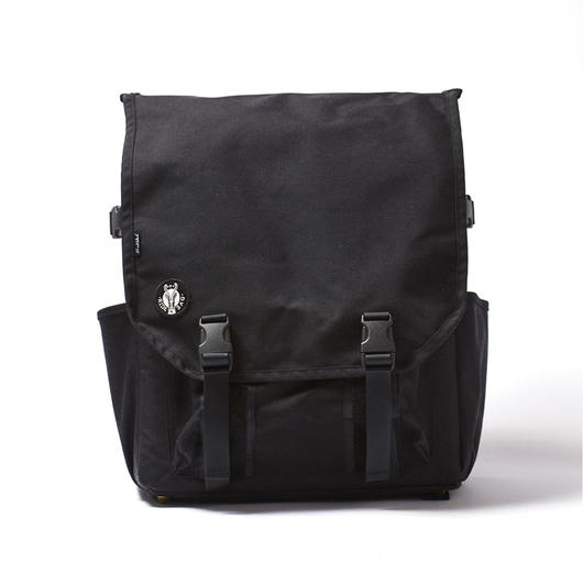RECORD BAGPACK / BLACK