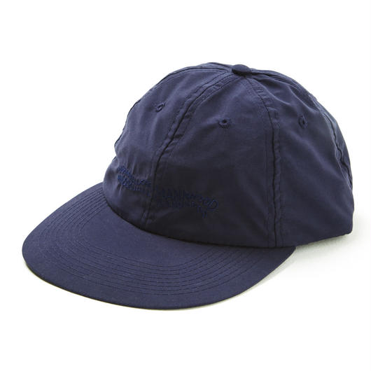 HHH POLY 6-PANEL CAP / NAVY