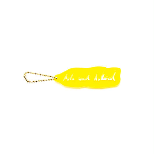 ACRYLIC KEY RING TWO / YELLOW