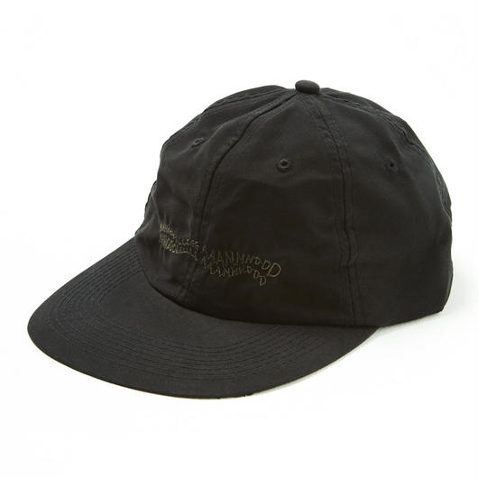 HHH POLY 6-PANEL CAP / BLACK
