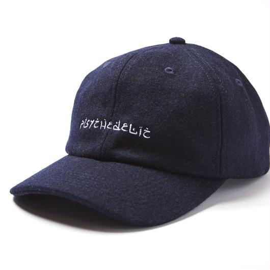 PSYCHEDELIC WOOL CAP / NAVY