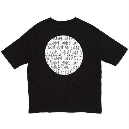 CIRCLE POCKET T-SHIRT / BLACK