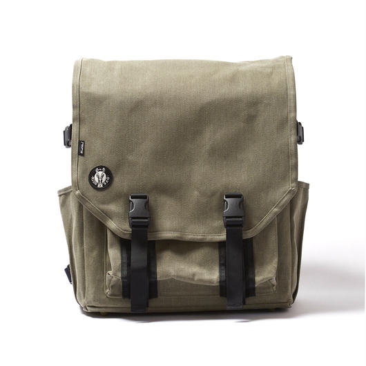 RECORD BAGPACK / OLIVE