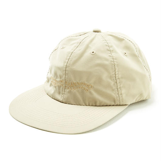 HHH POLY 6-PANEL CAP / KHAKI