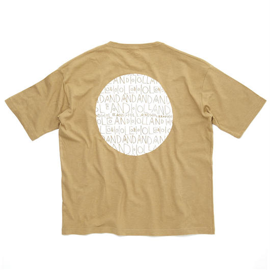 CIRCLE POCKET T-SHIRT / KHAKI